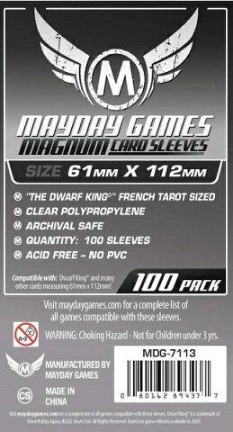 MDG-7113 カードスリーブ 61mm×112mm Magnum Card Sleeve The Dwarf King【新品】 ボードゲーム カードゲーム アナログゲーム テーブルゲーム ボドゲ