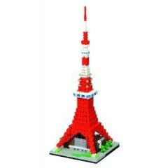 全商品、国内送料無料!ナノブロック 東京タワー デラックスエディション Deluxe Edition NB-0...