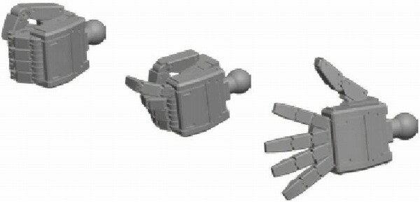 プラモデル・模型, ロボット  HD 1144 MS04 (L) ()