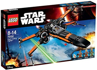 愛倫 · 坡樂高星球大戰 X 翼戰鬥機 [TM] 75102 樂高星球大戰益智玩具