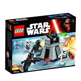 Lego星球大戰戰鬥包第一·訂貨75132 LEGO星球大戰智育玩具