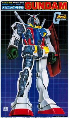 プラモデル・模型, ロボット 172 RX-78 () ()