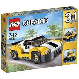 Lego創造者跑車黄色31046 LEGO智育玩具