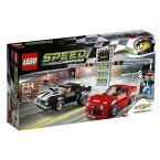 レゴ スピードチャンピオン シボレー カマロ ドラッグレース 75874【新品】 LEGO 知育玩具 クリスマス プレゼント【宅配便のみ】
