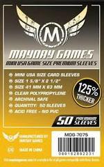 【メール便発送可】MDG-7075 カードスリーブ 41mmx63mm Premium Mini USA Sleeves (50 pack)【新品】 ボードゲーム カードゲーム アナログゲーム テーブルゲーム ボドゲ
