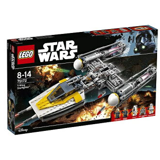 Lego星球大戰Y翅膀·明星戰士75172 LEGO星球大戰智育玩具