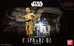 STAR WARS 1/12 C-3PO & R2-D2 (スター・ウォーズ/最後のジェダイ)【新品】 スター・ウォーズ プラモデル クリスマス プレゼント【宅配便のみ】