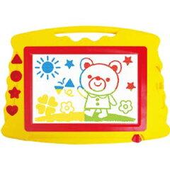知育玩具 カラフルお絵かきボード マグネットスタンプ、マグネットペン付き【新品】 02P19D…