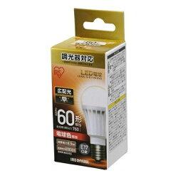 LED電球E17広配光調光60形相当電球色LDA9L-G-E17/D-6V3