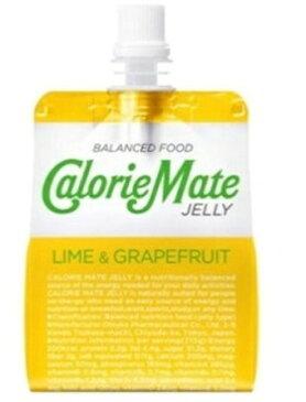 カロリーメイト ゼリー(ライム&グレープフルーツ味) 215g×6
