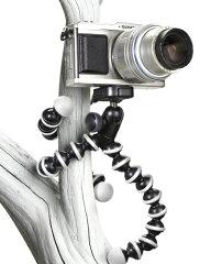 耐荷重1kg!木などに巻きつけて使えるフレキシブル三脚。ミラーレスカメラ対応。【即配】JOBY(ジ...