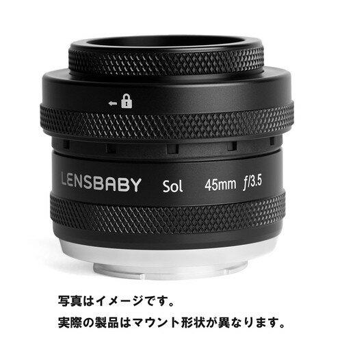 カメラ・ビデオカメラ・光学機器, カメラ用交換レンズ  SOL 45 Z LENSBABY F3.5