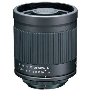 軽くてコンパクトな超望遠レンズ。400mmF8。専用フード付き!【即配】 KENKO ケンコー ミラーレ...