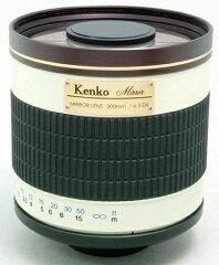 手のひらサイズで超望遠撮影を実現!【即配】 KENKO ケンコー ミラーレンズ500mm F6.3 DX【アウ...