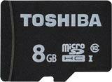 【8月度月間優良ショップ受賞:8/20 9:59までポイント10倍】【即配】東芝 TOSHIBA microSDHCカード(MSDAR40Nシリーズ) 8GB : MSDAR40N08G 【ネコポス便送料無料】