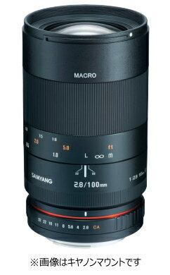 カメラ・ビデオカメラ・光学機器, カメラ用交換レンズ  SAMYANG 100mm F2.8 ED UMC MACRO EOS