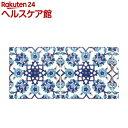 デコルファ インテリアマスキングテープ 100mm タイル ブルー M3700(1巻)【デコルファ】