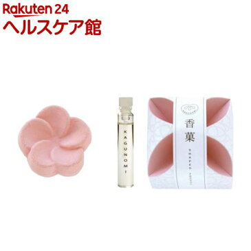 香菓 うめ形(桃色)1入 オイル付(1セット)【香菓(かぐのみ)】
