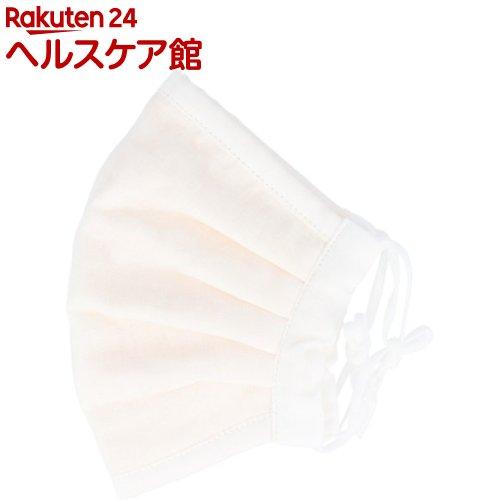 ふわふわマスク今治産タオル超敏感肌用ゆったり大きめホワイト