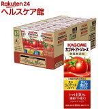 カゴメ トマトジュース 食塩無添加(200m*24本入)【カゴメジュース】