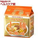 マルちゃん正麺 味噌味(108g*5食入)【slide_b5】【マルちゃん正麺】