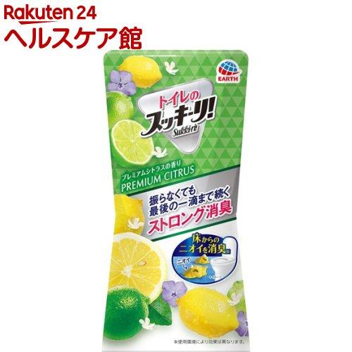 トイレのスッキーリ!Sukki-ri!消臭芳香剤プレミアムシトラスの香り(400ml)【スッキーリ!(sukki-ri!)】