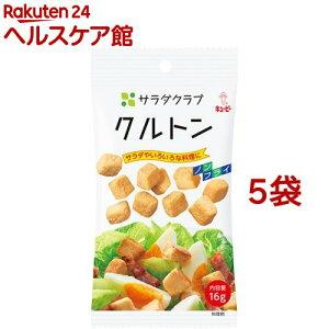 サラダクラブ クルトン(16g*5袋セット)【サラダクラブ】
