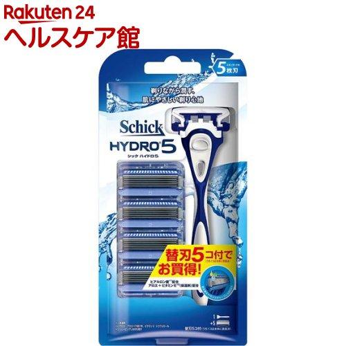 ハイドロ5コンボパック / 替刃5コ付