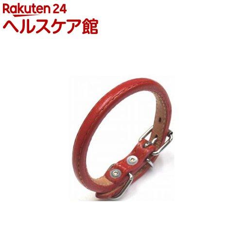ロール丸首輪 #1 赤(1コ入)
