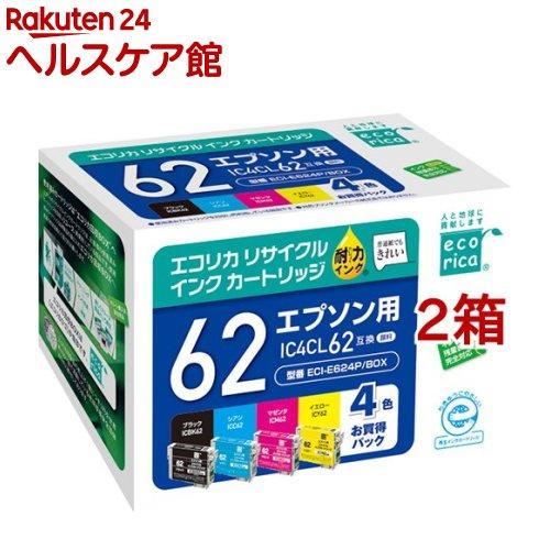 プリンター・FAX用インク, インクカートリッジ  4 IC4CL62(2)