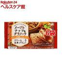 クリーム玄米ブラン メープルナッツ&グラノーラ(2枚*2袋入6コセット)【バランスアップ(BALANCEUP)】