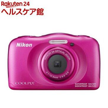 ニコン デジタルカメラ クールピクス W100 ピンク(1台)【クールピクス(COOLPIX)】【送料無料】