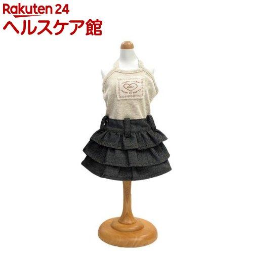 クークチュール オーガニックキャミスカート ブラック S(1着)【クークチュール】
