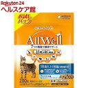 AllWell 10歳以上の腎臓の健康維持用 フィッシュ味 挽き小魚とささみフリーズドライパウダー入り 200g