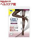 メディキュット スレンダーマジックブラック 着圧ストッキング 黒 M-L(1足)【メディキュット(QttO)】[ドクターショール Dr.scholl] その1
