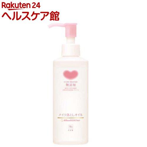 7位:牛乳石鹸カウブランド『無添加メイク落としオイル』