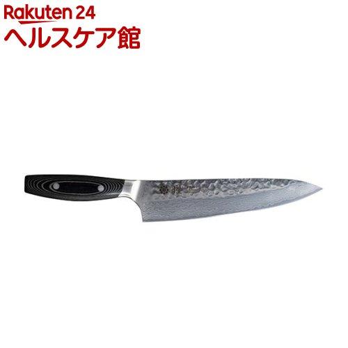 曜37層鋼ダマスカスシェフナイフ210mm