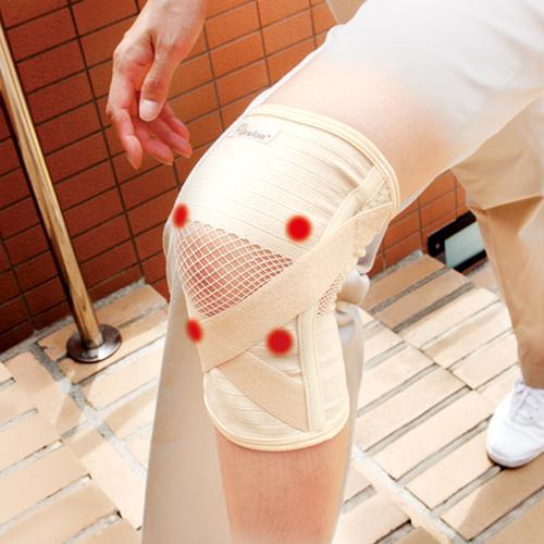 磁気付き膝サポーター楽っ歩Mサイズ
