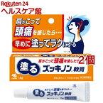 【第3類医薬品】塗るズッキノン軟膏(15g*2個セット)【ズッキノン】