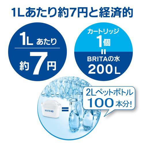 ブリタスタイルブルーマクストラプラスカートリッジ1個付き日本正規品
