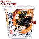 カップみそ汁 まろやかな旨みと香り 海苔 19.9g ×6個