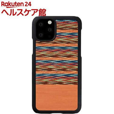 マン&ウッド iPhone 11 Pro 天然木ケース Browny Check I16838i58R(1個)【マン&ウッド(Man&Wood)】