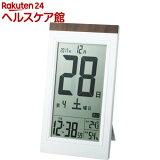 ADESSO(アデッソ) デジタル日めくり電波時計 KW9254(1コ入)【ADESSO(アデッソ)】
