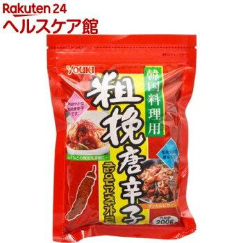 ユウキ食品粗挽き唐辛子(韓国料理用)