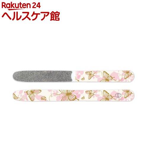 ダイヤモンドファイル Original / ピンク蝶々 / 全長150mm 幅14mm 厚み0.8mm