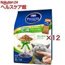 コンボ プレゼント キャット ドライ肥満が気になる猫用 まぐろとかつお味(20g*12袋入*12コセット)【コンボ(COMBO)】
