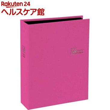 ポケットアルバム セラピーカラー 溶着式/L判2段 ハッピーピンク TCPK-L-160-HP(1冊)【ナカバヤシ】