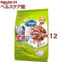 コンボ 肥満が気になる猫用 まぐろ味・かつお節・小魚添え(700g*12コセット)【コンボ(COMBO)】