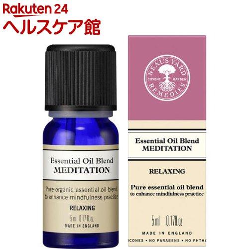 ブレンドエッセンシャルオイル メディテーション / 本体 / 5ml