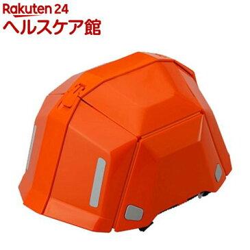 トーヨー(TOYO) 防災用折りたたみヘルメット ブルームII No.101 オレンジ(1コ入)【トーヨー(TOYO)】